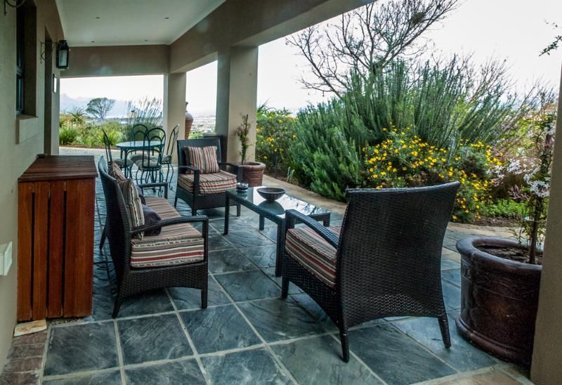 Luxury Apartment patio