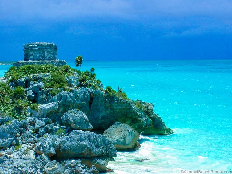 The ruins of Tulum are a 20 minute drive away