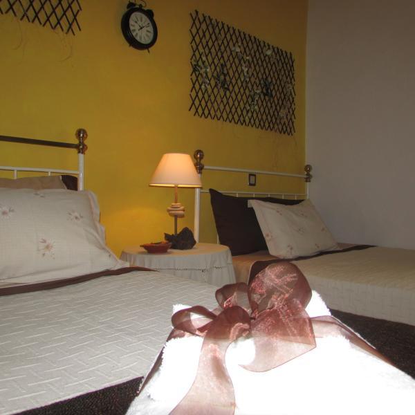 'Quarto do Girasol' - 'Sunflower slaapkamer'.