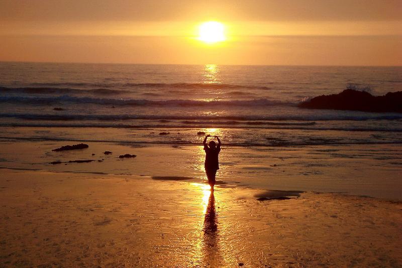 ALENTEJO COAST - Sunset over the ALMOGRAVE sand beach