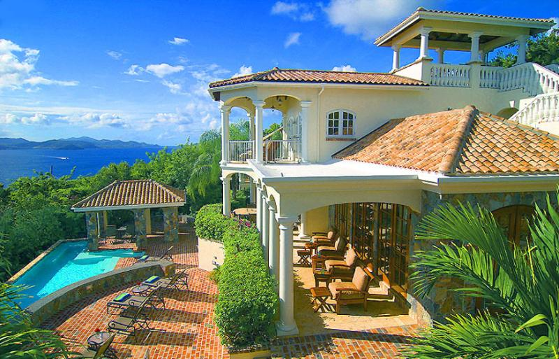 Villa Las Brisas Caribe, St. John Virgin Islands. Elegance & Splendor in Caribbean Living