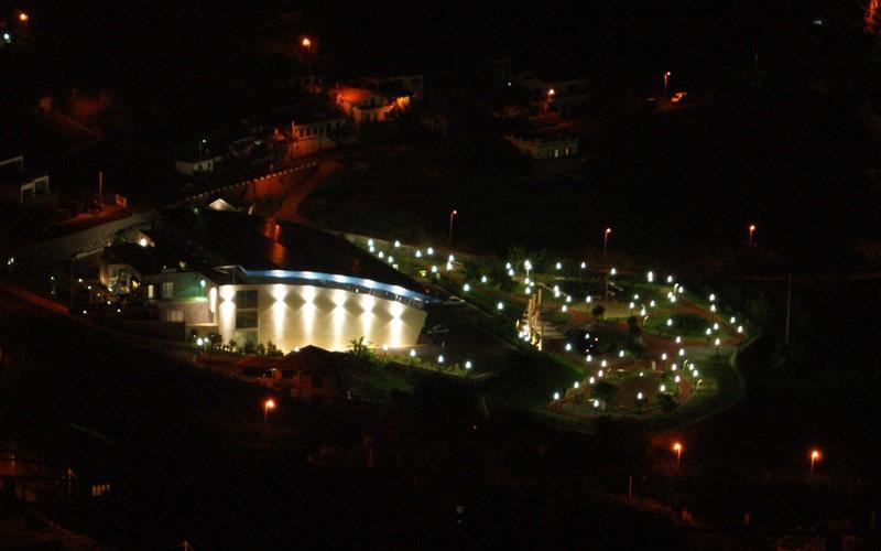 Salle de sport (nuit)