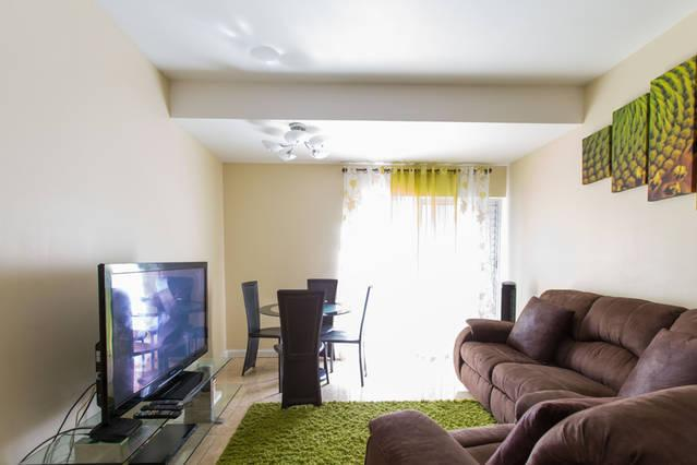 Open Planned Living & Dining Room which is fully Air-Conditioned