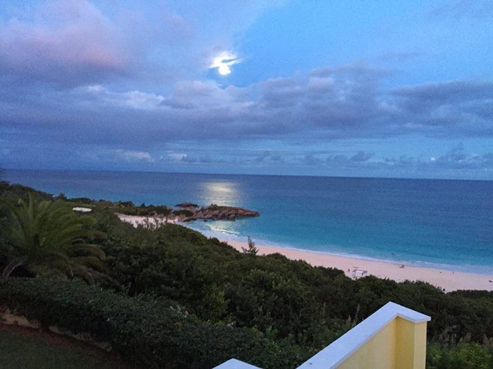 Moon shining on Horseshoe Beach can be yours to enjoy from Southern Views.