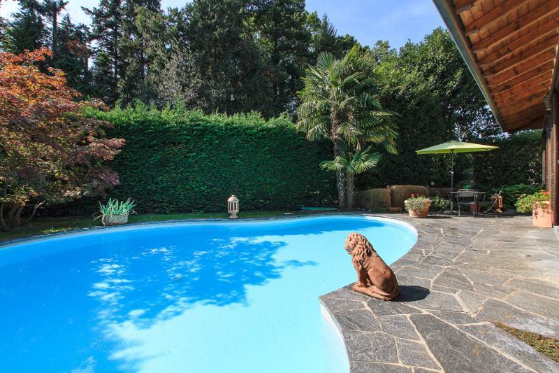 Holiday villa with private pool in Biganzolo Verbania at Lake Maggiore Italy