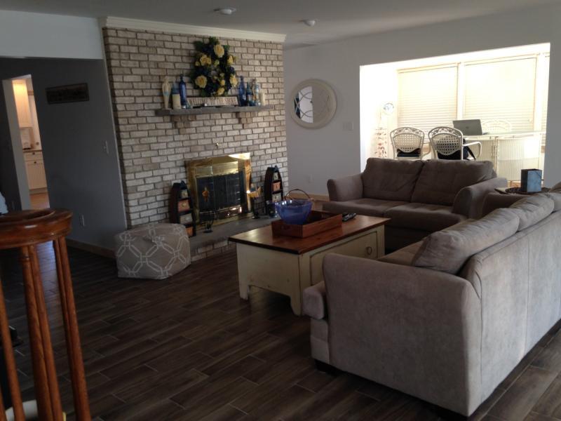 First Floor - Living Room & Bar Room