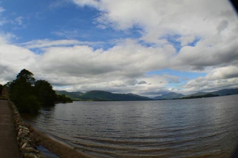 Ben Lomond at Loch Lomond
