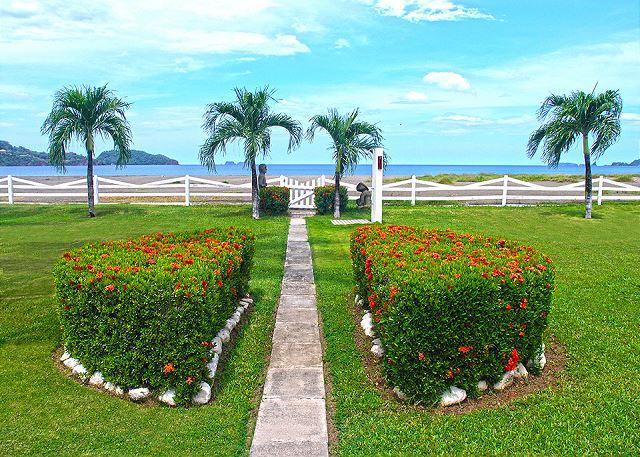 Beach Path and Lawn