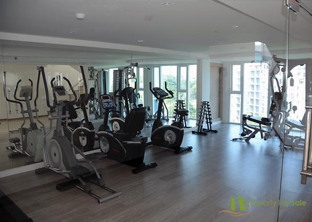 Sala fitness e palestra