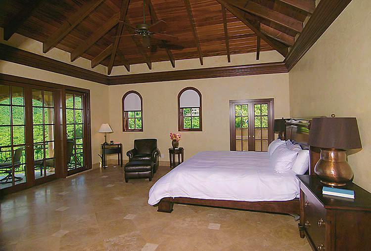 The Cinnamon Breeze master bedroom