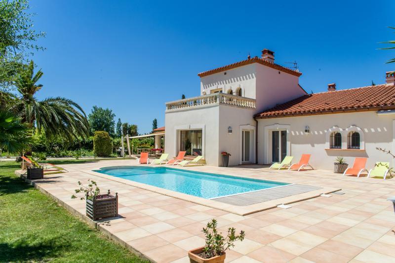 Mas Picton, Villa 420m² 6 chambres 10 min à pieds plage, Ferienwohnung in Argeles-sur-Mer