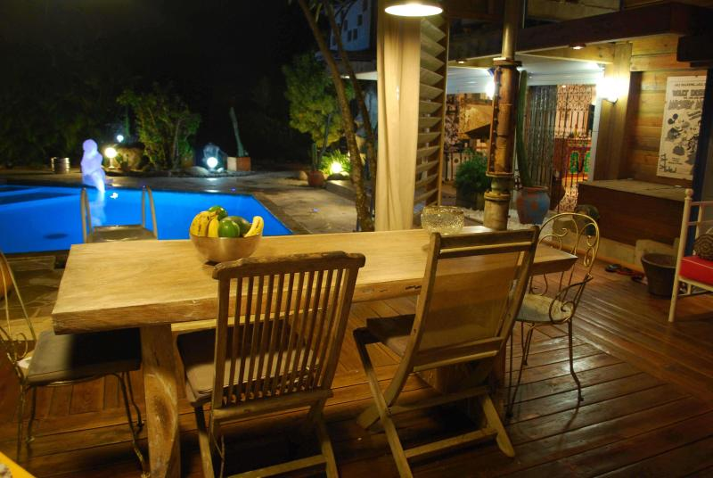 SUPERBE PROPRIETE DE CARACTERE AVEC PISCINE, holiday rental in Lamentin