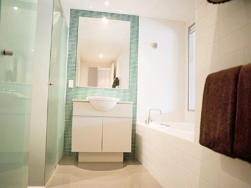 Ultra modernt badrum