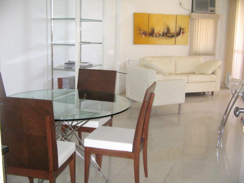 Salle de séjour de plage vue Barra da Tijuca