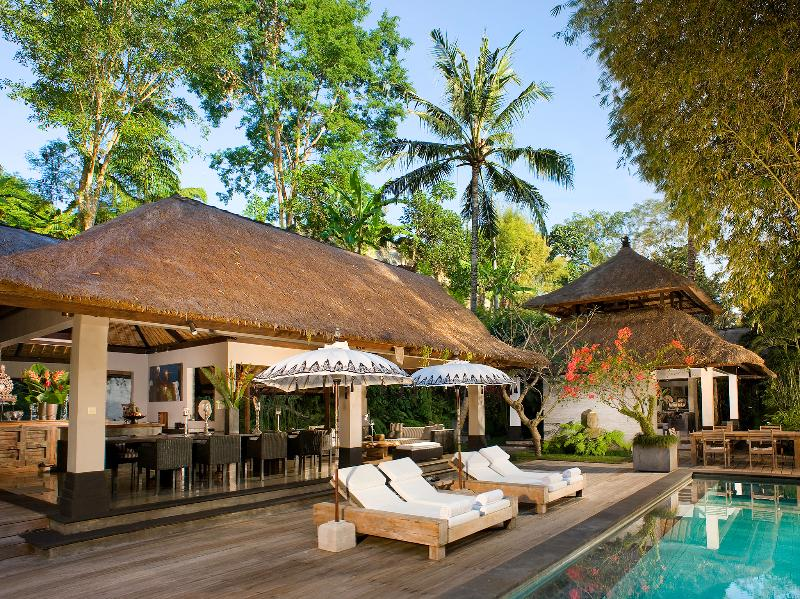 Villa Maya Retreat - tarde na piscina