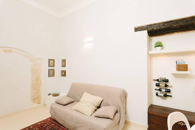 1743LOft 'Il Vicoletto ' livingroom
