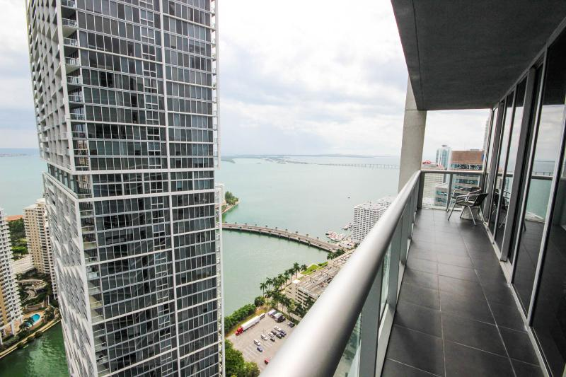 Overlooking the Biscayne Bay