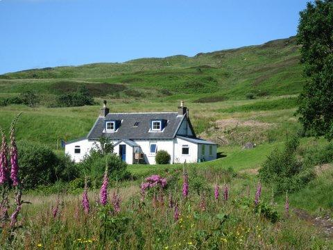Carna House with open access to the whole 600 acre island and your own boat!