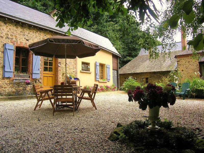 Moulin Du David, holiday rental in Martigne-Ferchaud
