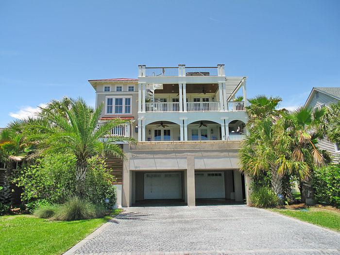 Front view of 'Ocean View'