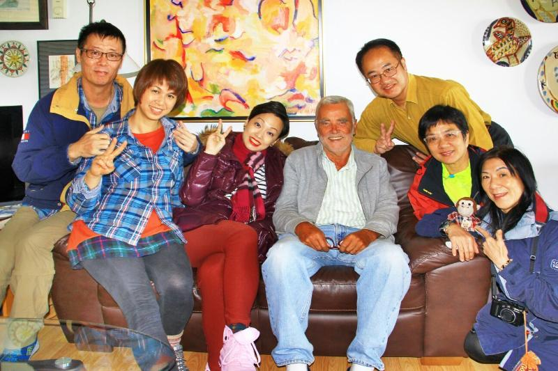 Happy group of guests from Hongkong, Sept 2015