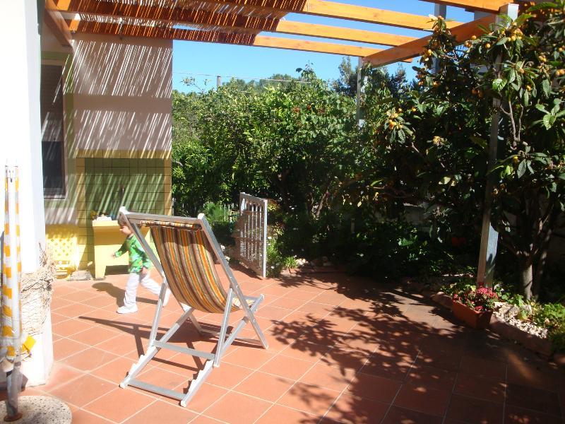 parte della veranda/terrazza