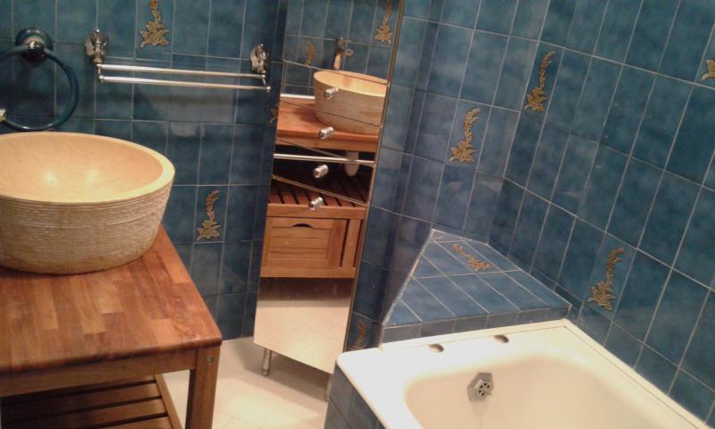 Bathroom (bath in shower) - Loo-Toilet-toilet separate