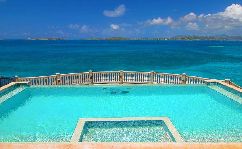 Villa Rhapsody St. John - at the edge of the spectacular Caribbean!