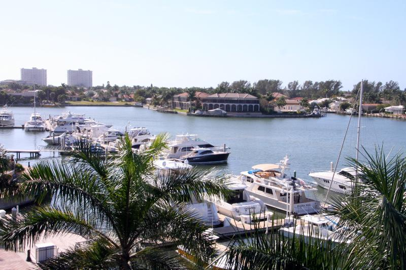 A View from the Lanai - Smokehouse Bay and Esplanade Marina