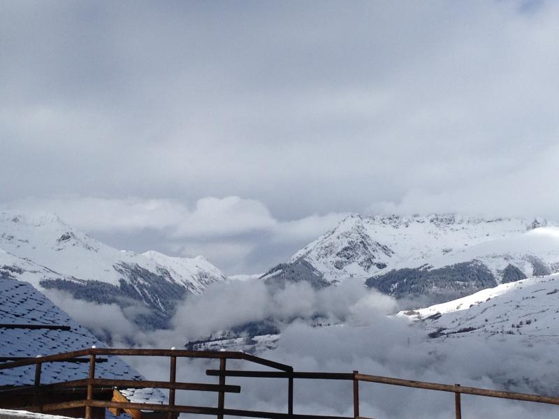 The view across the valley from outside chalets de wengen