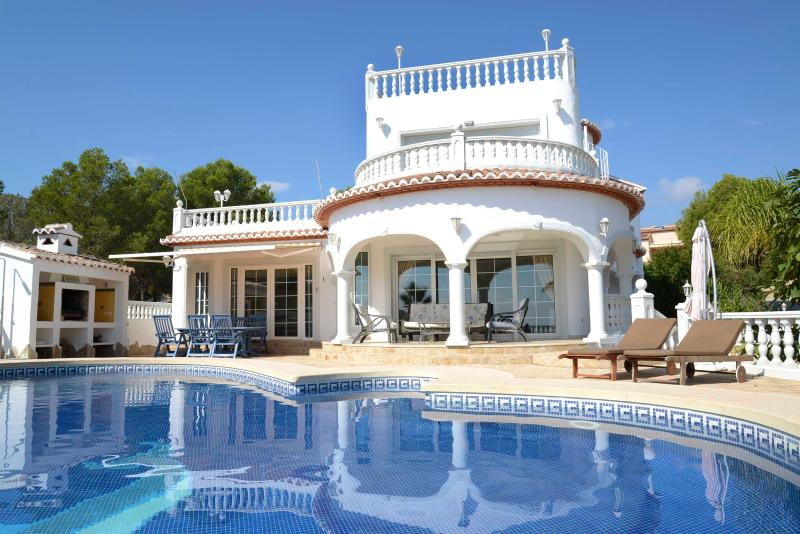 Villa with a sea view for 8 persons, holiday rental in Calpe