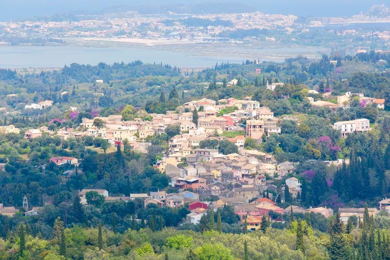 View of Gastouri village