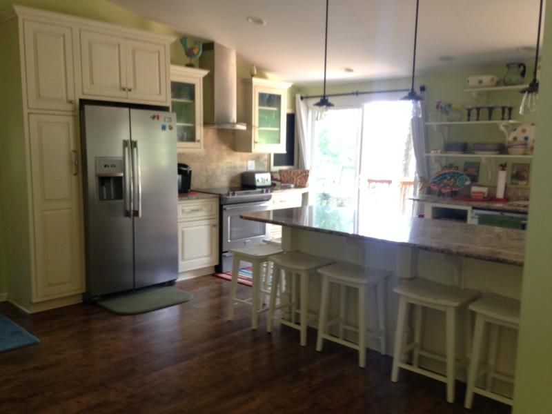 Newly renovated fully stocked kitchen