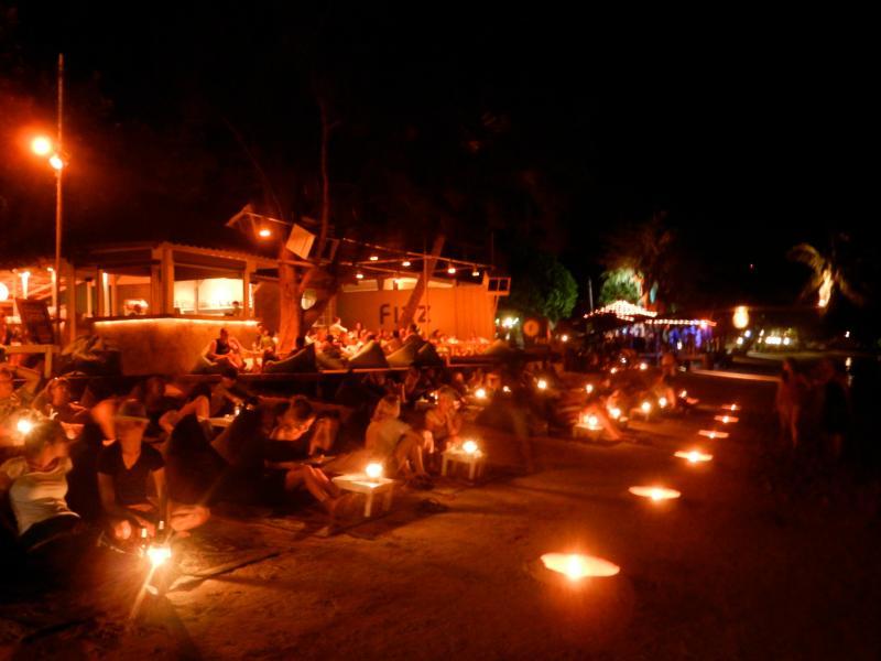Sairee beach by night