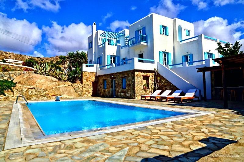 Galini Villa, location de vacances à Mykonos