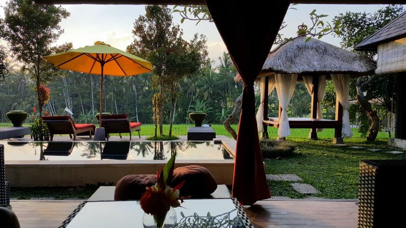 Villa Padi Menari - Rustic 3 bedroom house near Ubud, vacation rental in Ubud