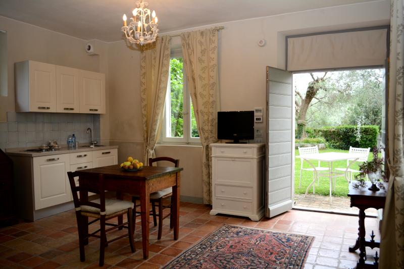 Il Pignocco Country House-Studio Appartement Marica-Küche