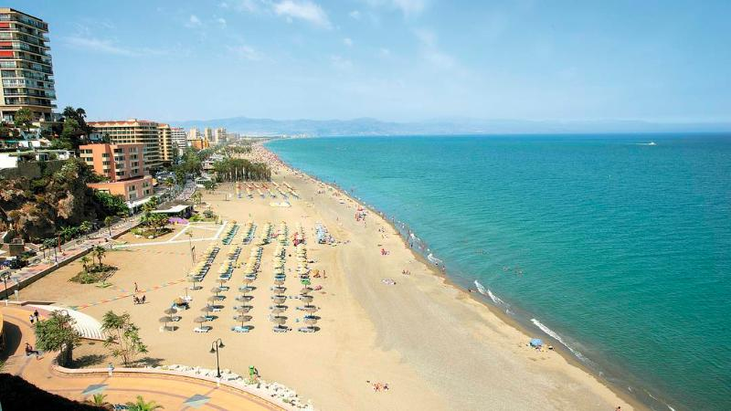 Torremolinos is one of the most popular holiday resorts in Southern Spain. Great, wide sand beach!!