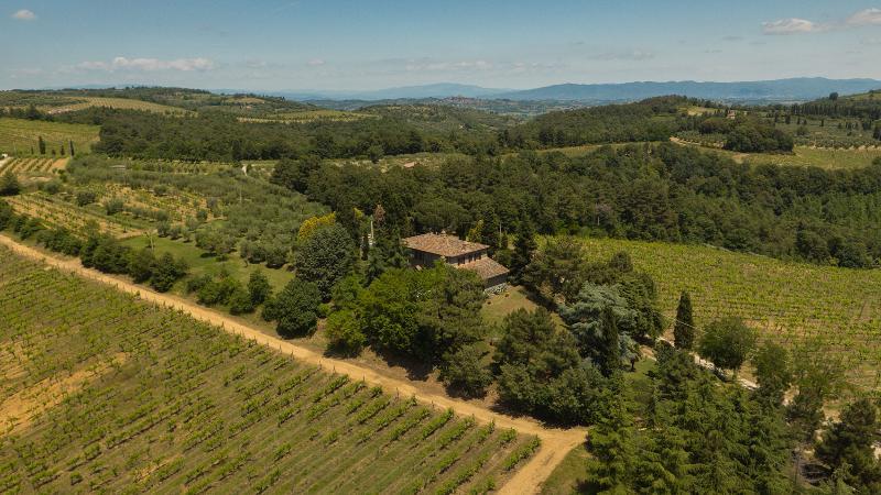 Aerial view Villa Panorama