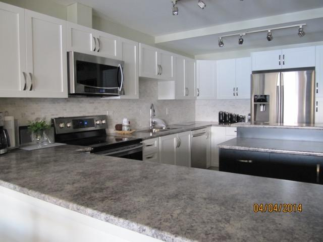 Beautiful new kitchen, fully equipped with stainless appliances.