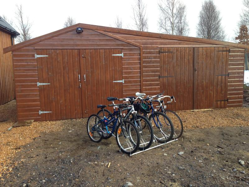 Bike selection at Willowbarn, free usage for our guests