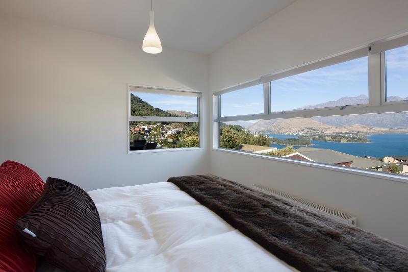Lake views from master bedroom