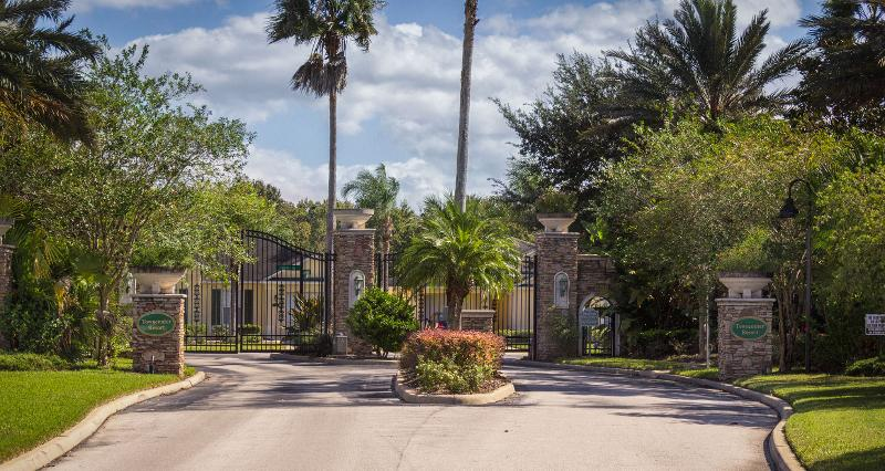 Tranquil and secure gated community