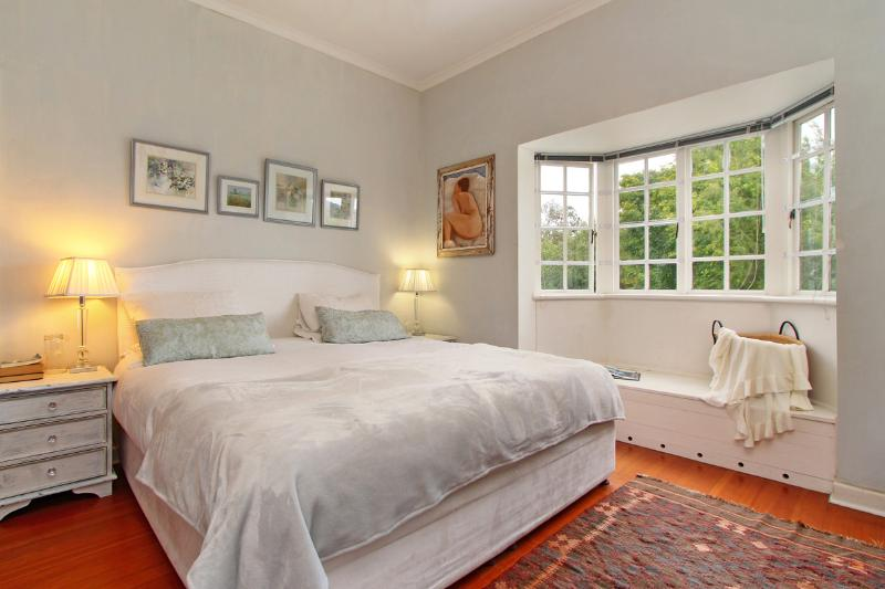 Main bedroom with mountain views