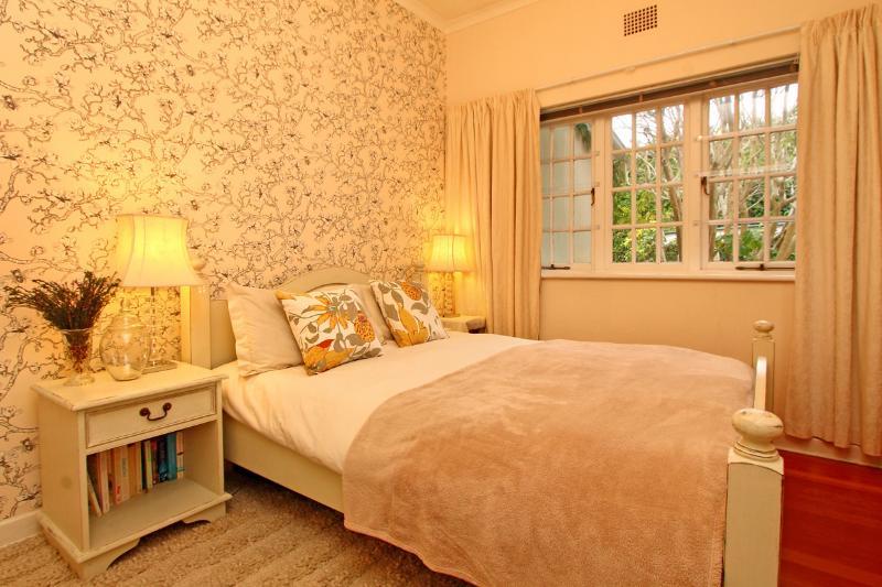 Queen bedroom with separate bathroom