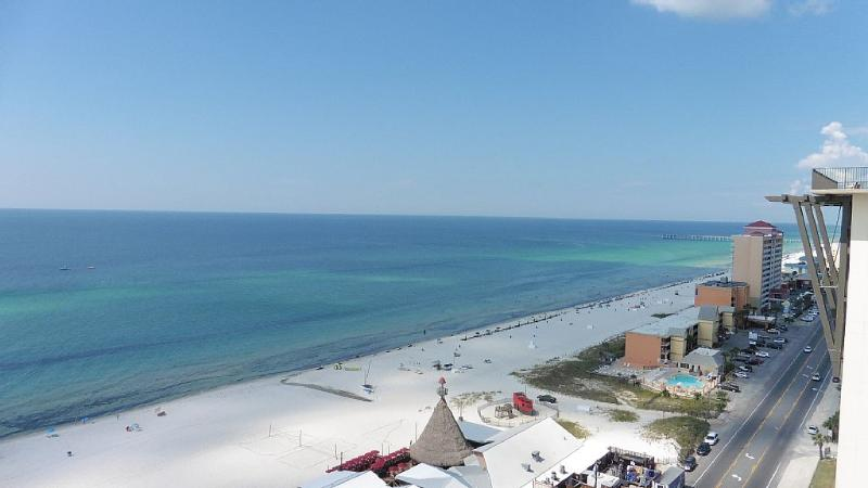 View of the Gulf from the property
