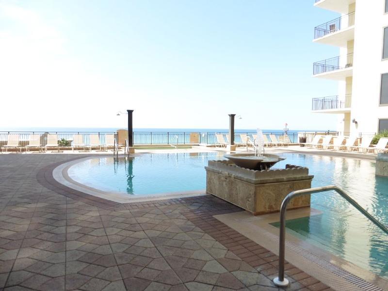 Pool area on the 4th floor