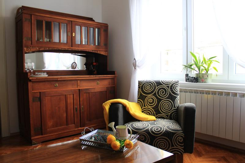 Romantic getaway in the city centre, vacation rental in Zagreb