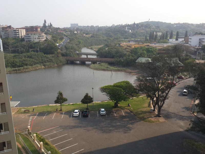 View of Amanzimtoti Lagoon from the building