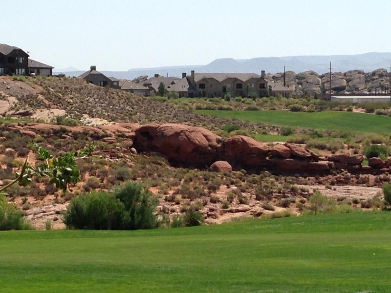 Corail canyon Golf Course a mile away.